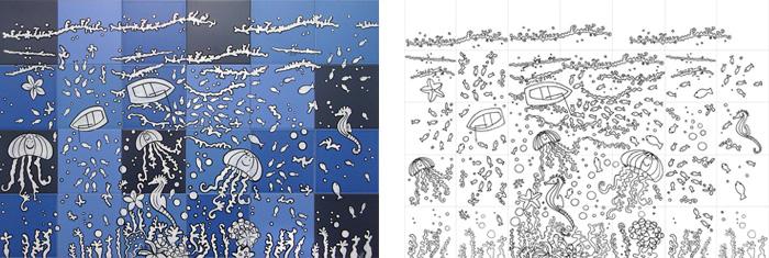 Artelux azulejos por encargo personalizadas - Azulejos con dibujos ...